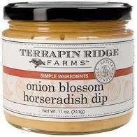 Terrapin Ridge Onion Blossom Horseradish Dip, Clearwater, Florida 11oz.