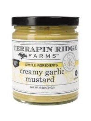 Terrapin Ridge Creamy Garlic Mustard, Clearwater, Florida,  8.5 oz.