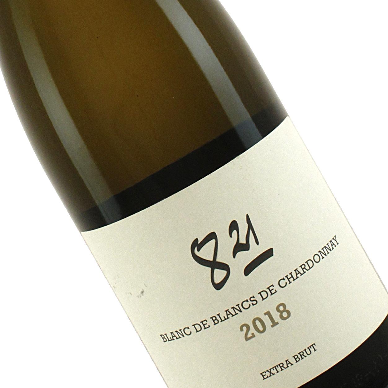 """Domaine d'Henri 2018 Chardonnay"""" 8.21"""" Blanc De Blancs Extra Brut Pet-Nat"""