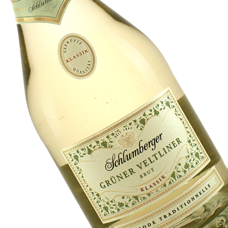 Schlumberger N.V. Gruner Veltliner Brut Sparkling White Wine, Austria