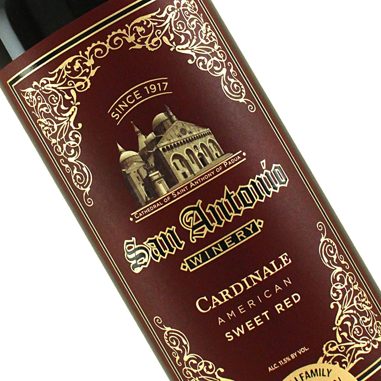 San Antonio Winery Cardinale Sweet Red Wine, California