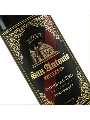 San Antonio Winery Imperial Semi-Sweet Red Wine, California