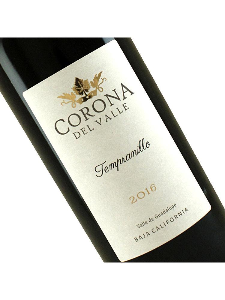 Corona del Valle 2016 Tempranillo, Valle Guadalupe, Baja California, Mexico