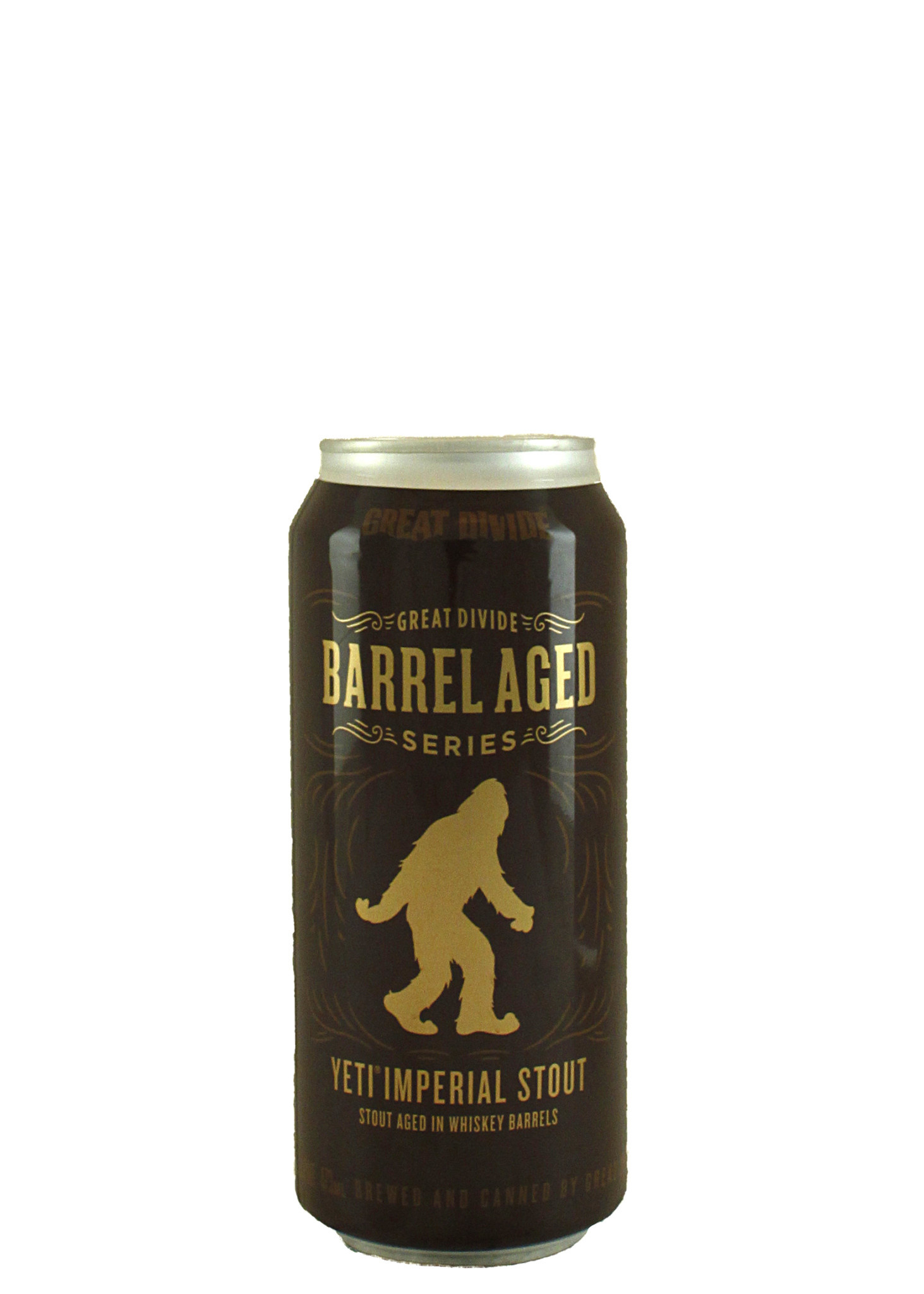 Great Divide Brewing Barrel Aged Series Yeti Imperial Stout 16oz. Can - Denver, CO