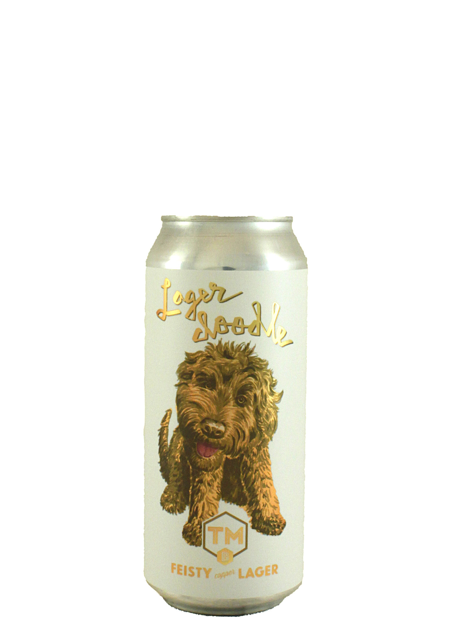"Trademark Brewing ""Lagerdoodle"" Copper Lager 16oz. Can - Long Beach, CA"