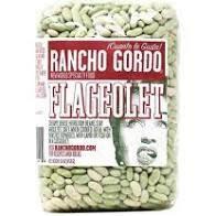 Rancho Gordo Flageolet Beans 16oz, Napa, CA