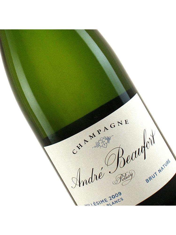 Andre Beaufort 2009 Champagne Blanc de Blancs Brut Nature