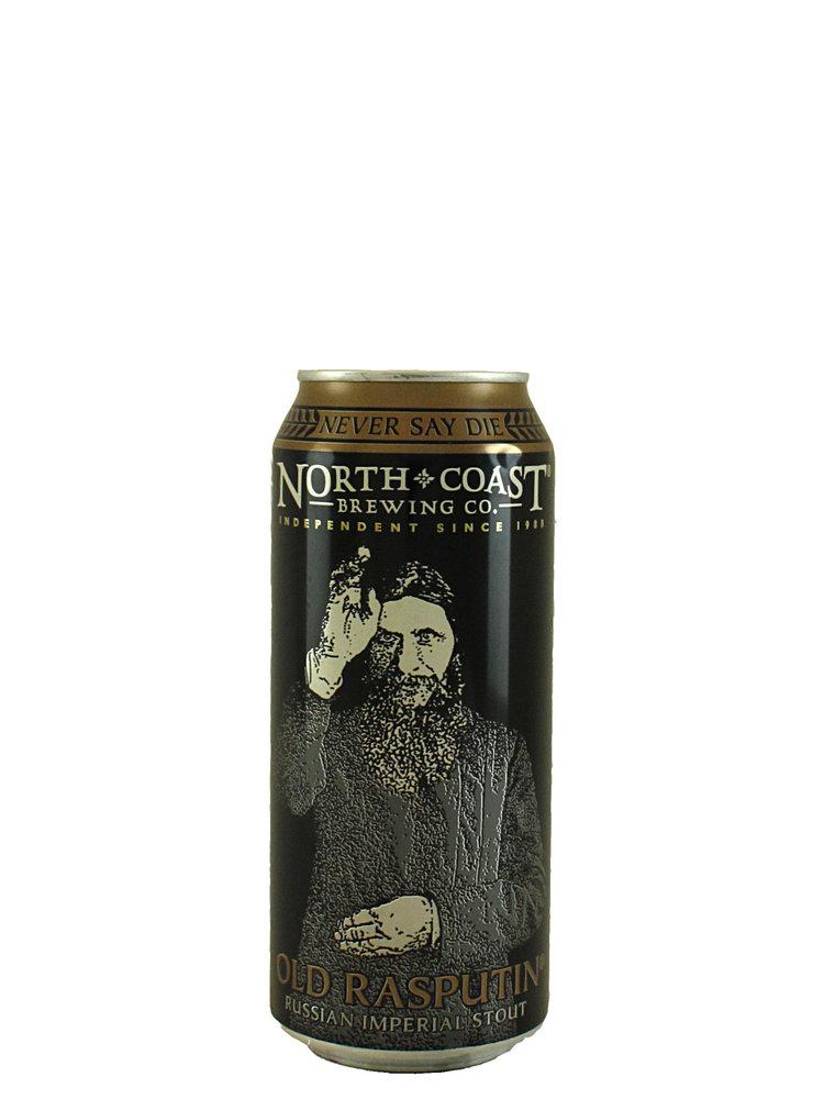 "North Coast Brewing ""Old Rasputin"" Russian Imperial Stout 16oz. Can - San Jose, CA"