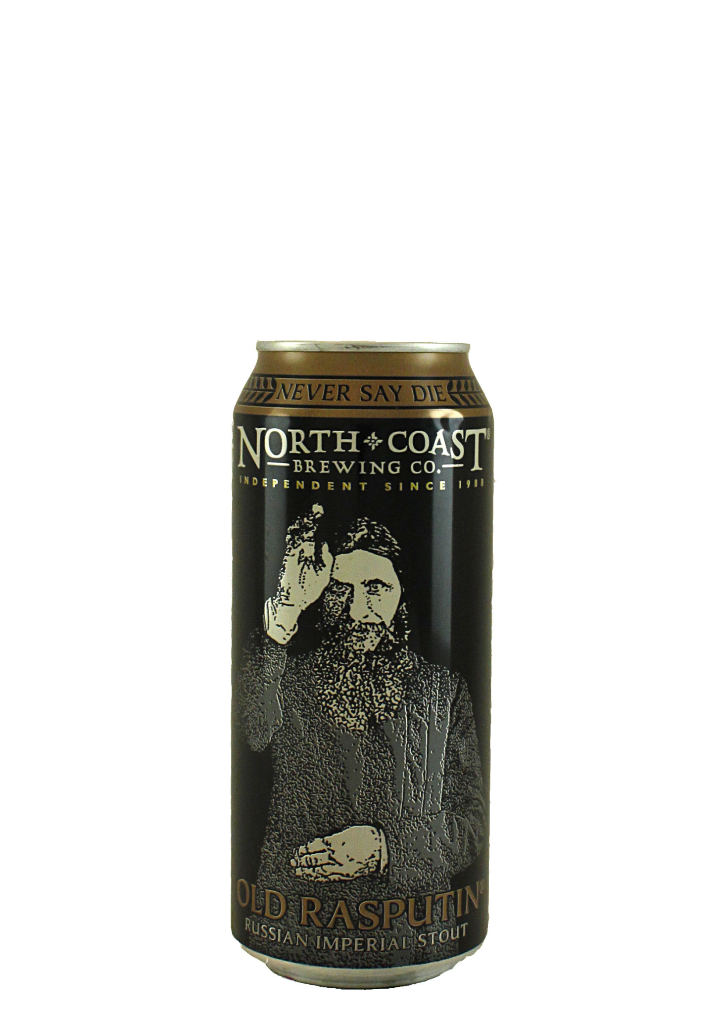 "North Coast Brewing ""Old Rasputin"" Russian Imperial Stout 16oz. Can - San Jose, CA"