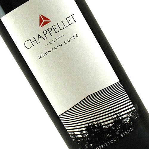 Chappellet 2018 Mountain Cuvee, Proprietor's Blend, Napa Valley