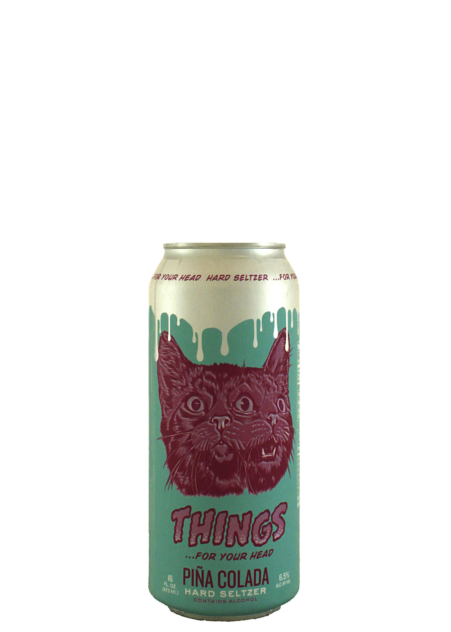 "Things...For Your Head ""Pina Colada"" Hard Seltzer 16oz. Can - San Pedro, CA"