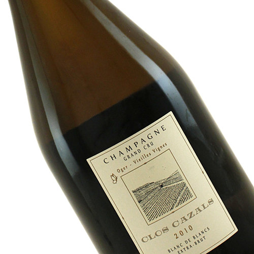 Clos Cazals 2010 Champagne Grand Cru, Blanc De Blancs Extra Brut, Le Mesnil-sur-Oger