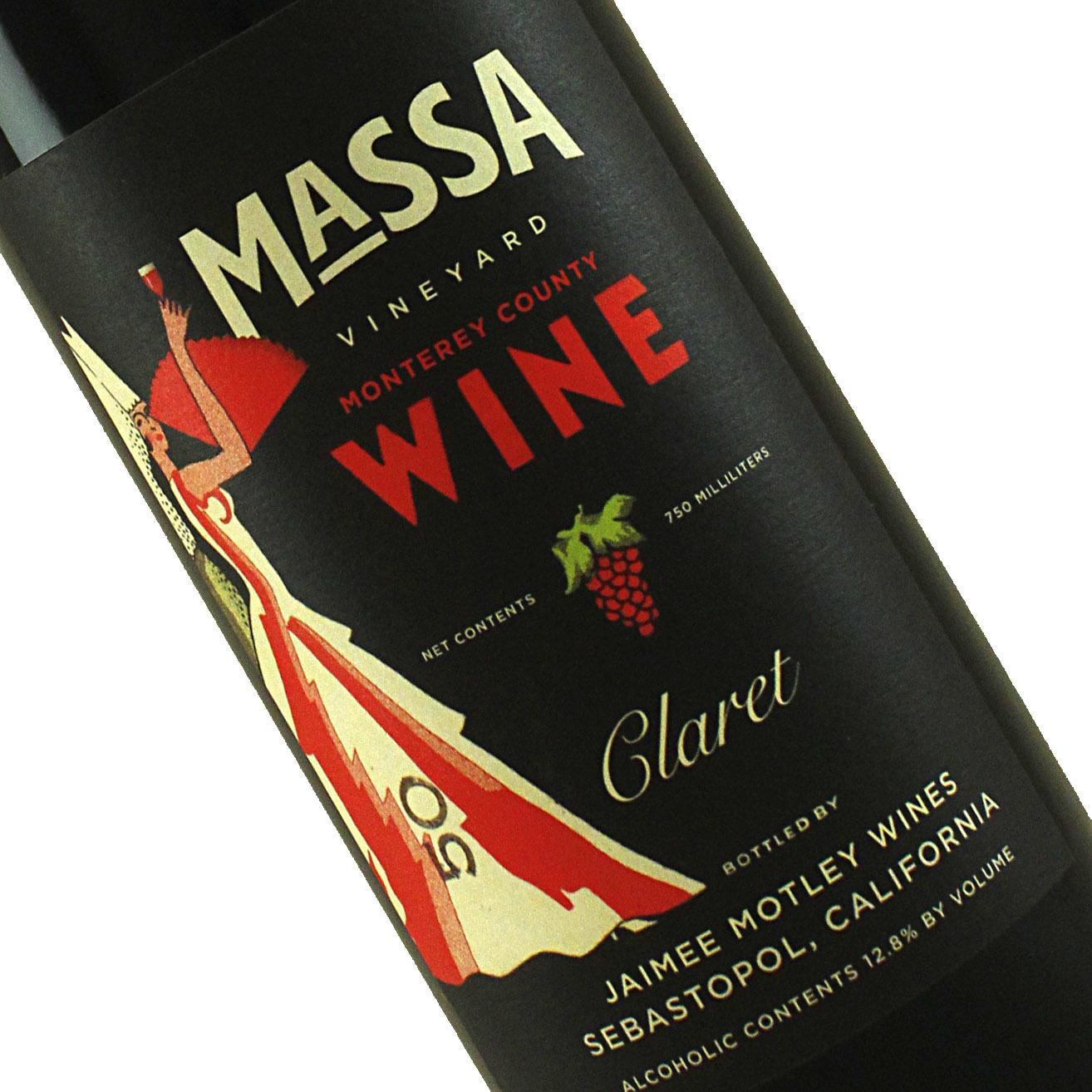 Massa 2018 Claret, Monterey County