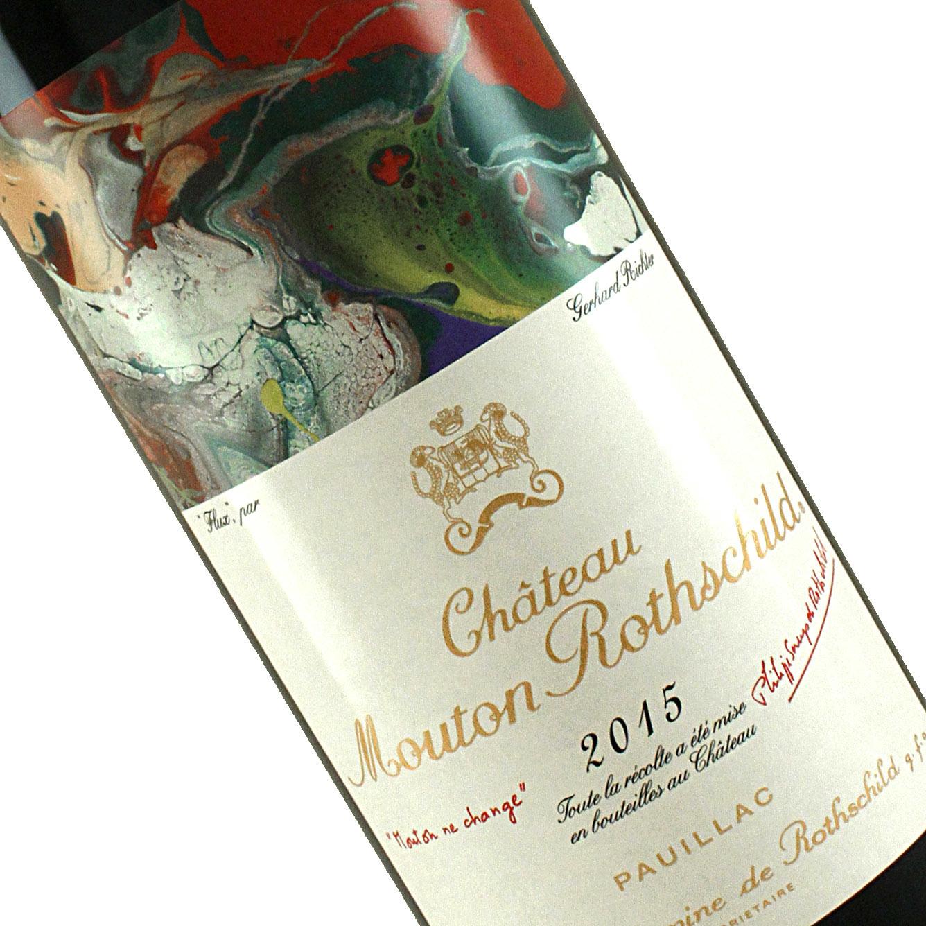 Chateau Mouton Rothschild 2015 Pauillac, Bordeaux
