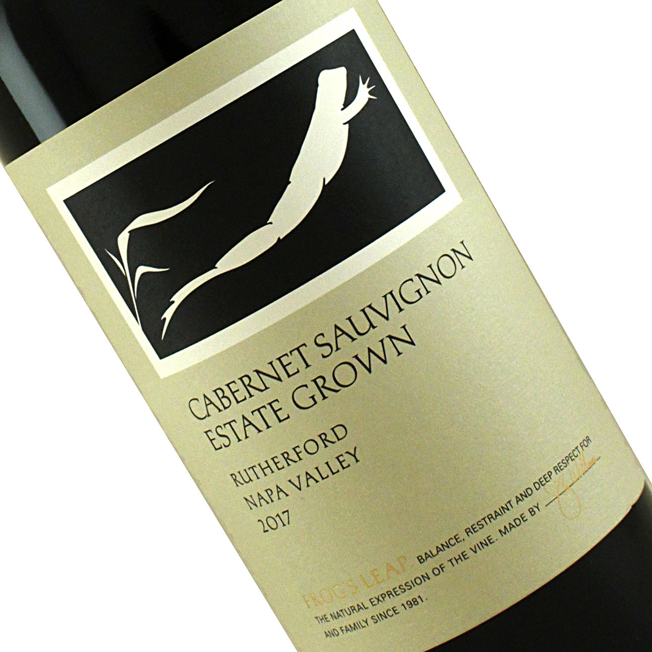 Frog's Leap 2017 Cabernet Sauvignon Rutherford, Napa Valley