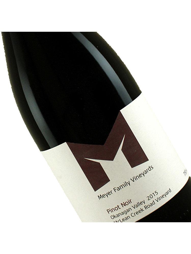 Meyer Family Vineyards 2015 Pinot Noir Okanagan Valley, Canada