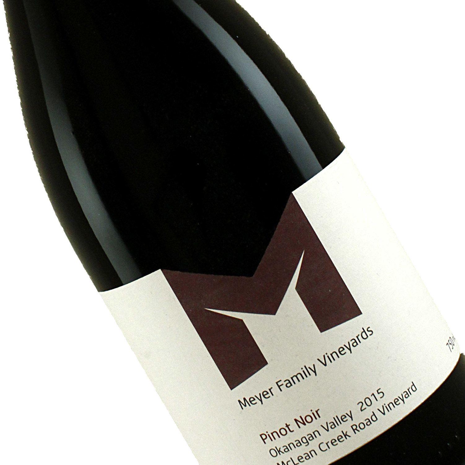 Meyer Family Vineyards 2015 Pinot Noir Okanagan Valley, Canada