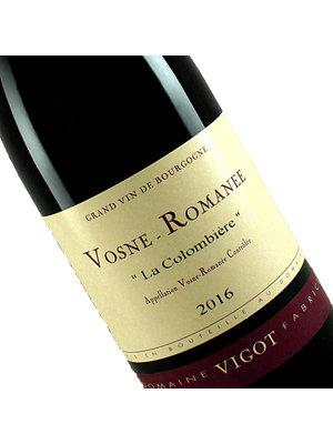 "Vigot 2016 Vosne-Romanee ""La Colombiere"" Burgundy"