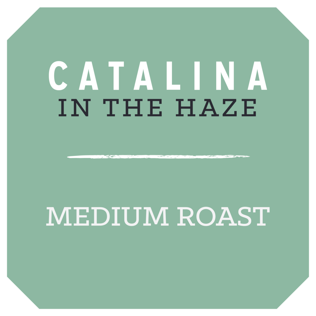 "Rose Park Coffee Roasters ""Catalina in the Haze"" Whole Bean Coffee 12oz. Bag - Long Beach, CA"