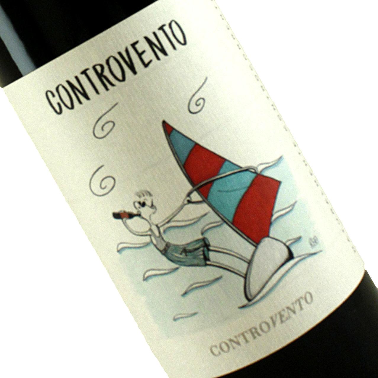 Controvento 2019 Vino Rosso Natural Wine, Italy