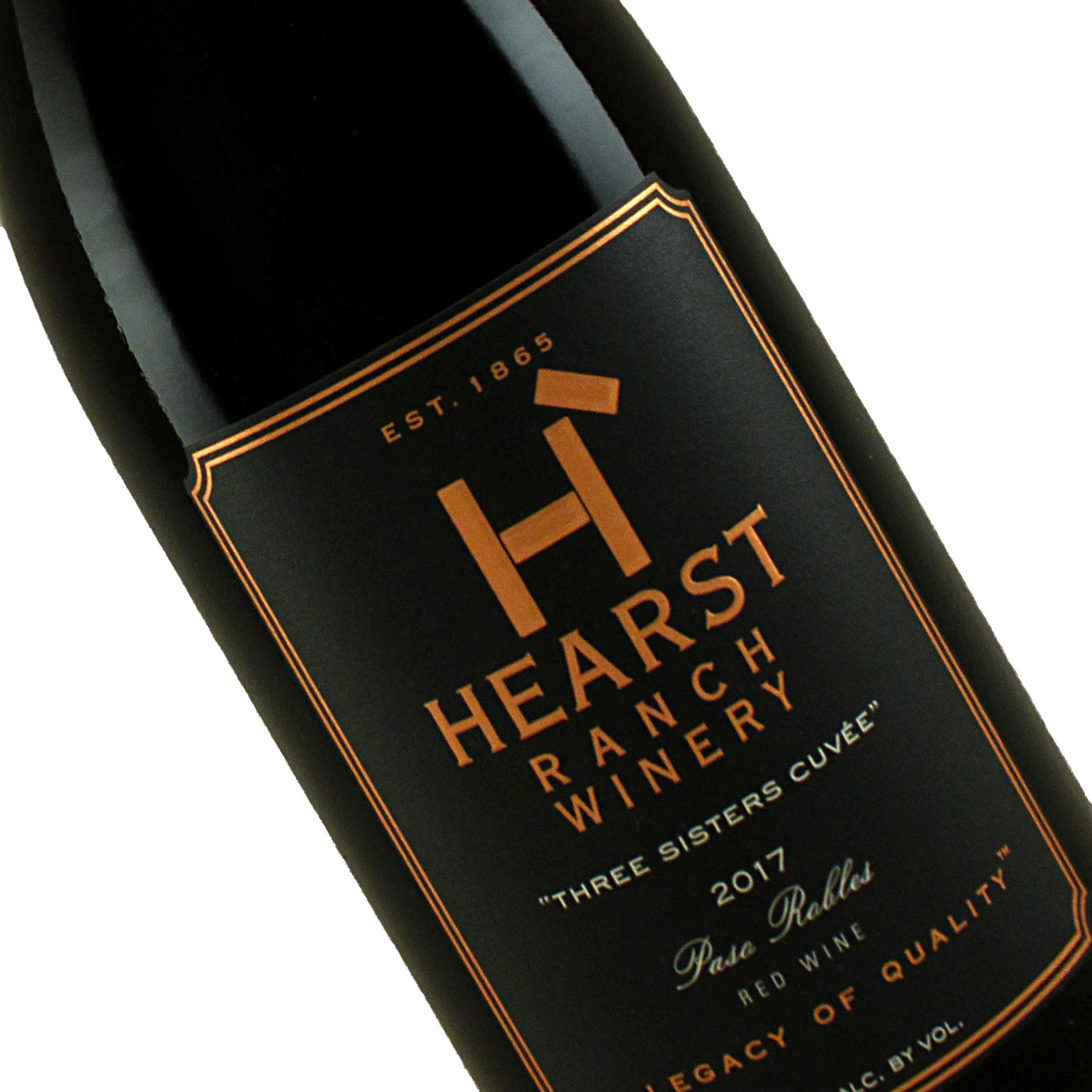 """Hearst Ranch 2017 """"Three Sisters Cuvee"""" Red Blend, Paso Robles"""