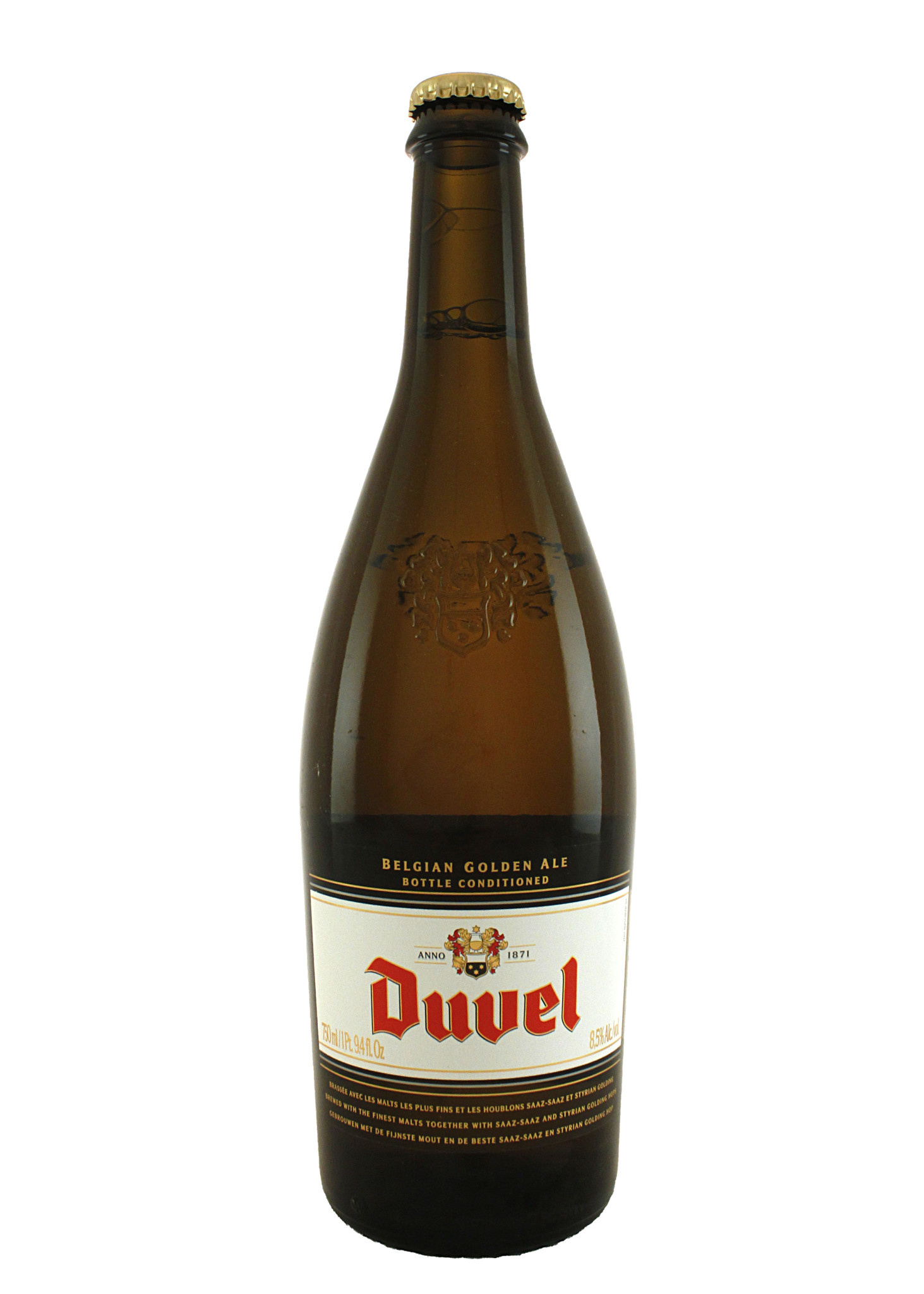 Duvel Belgian Golden Ale, Belgium 750ml