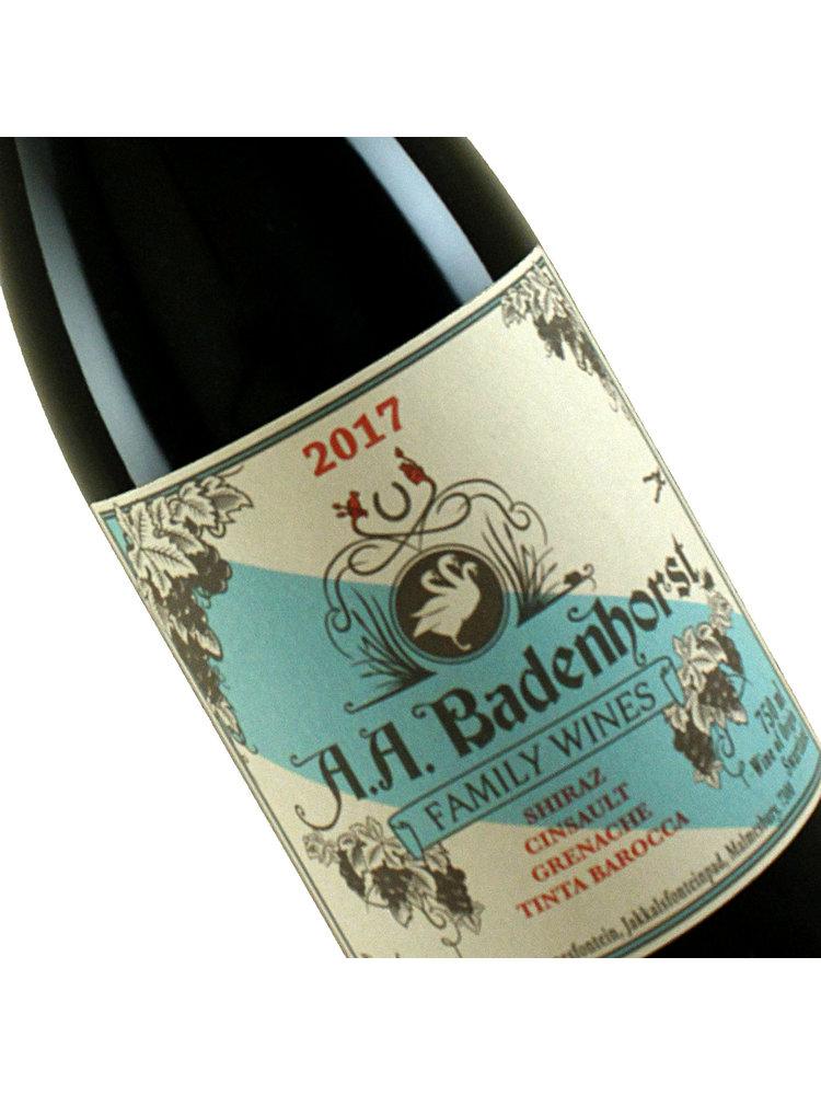 A.A. Badenhorst 2017 Family Red Wine Swartland, South Africa