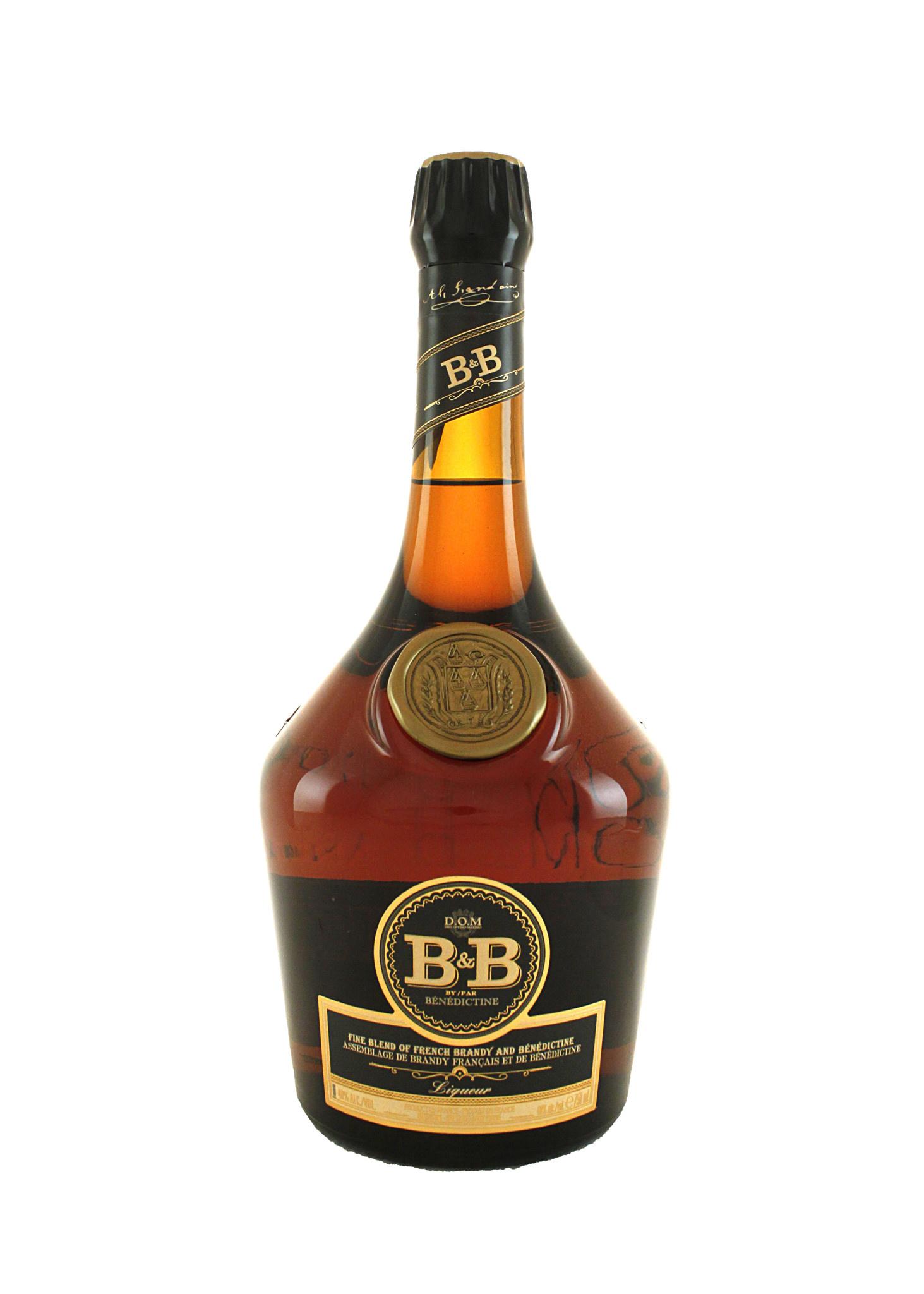 B & B Benedictine and Brandy Liqueur, D.O.M., France