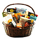 """The Ultimate Party-Snack"" Gift Basket"