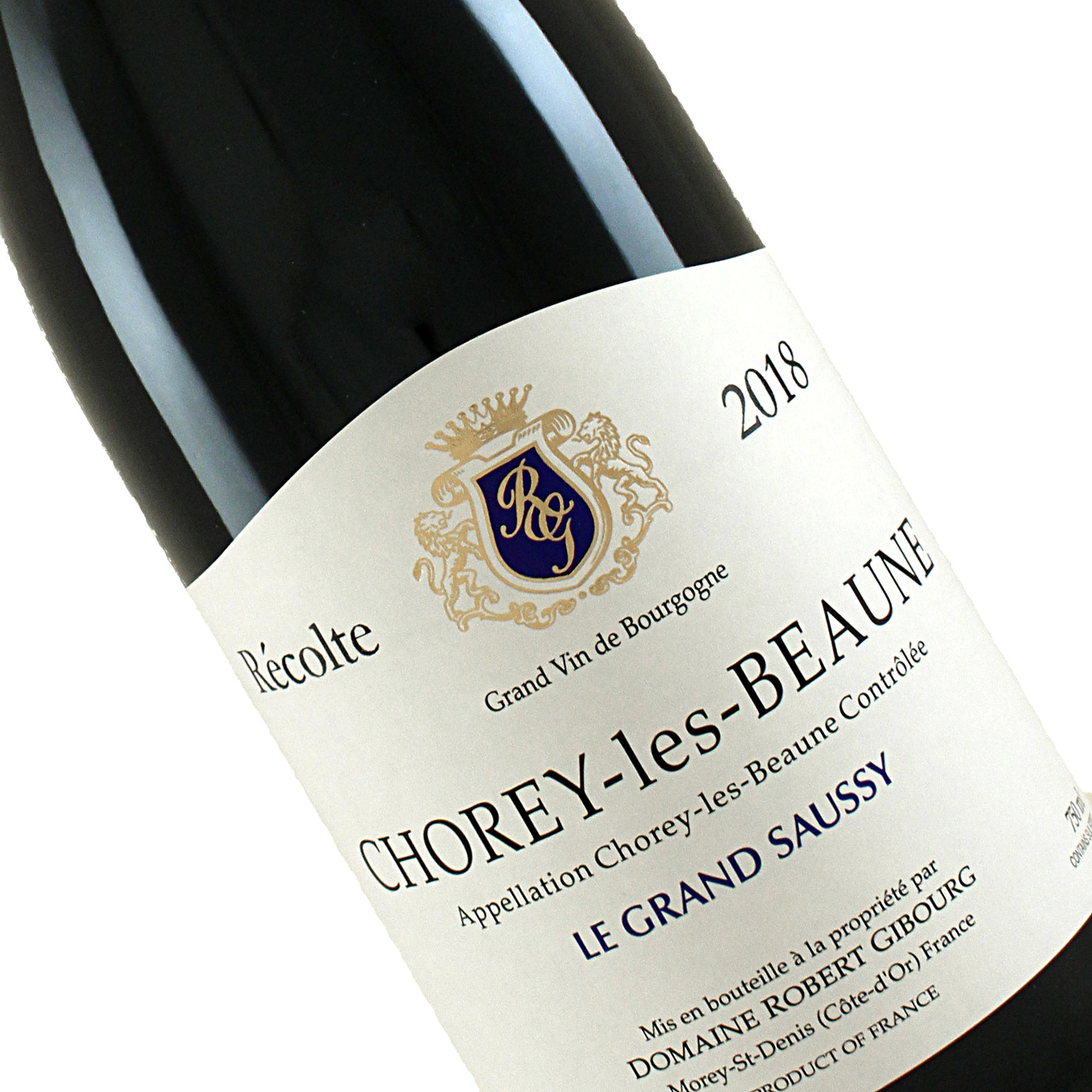 Robert Gibourg 2018 Chorey-les-Beaune Le Grand Saussy