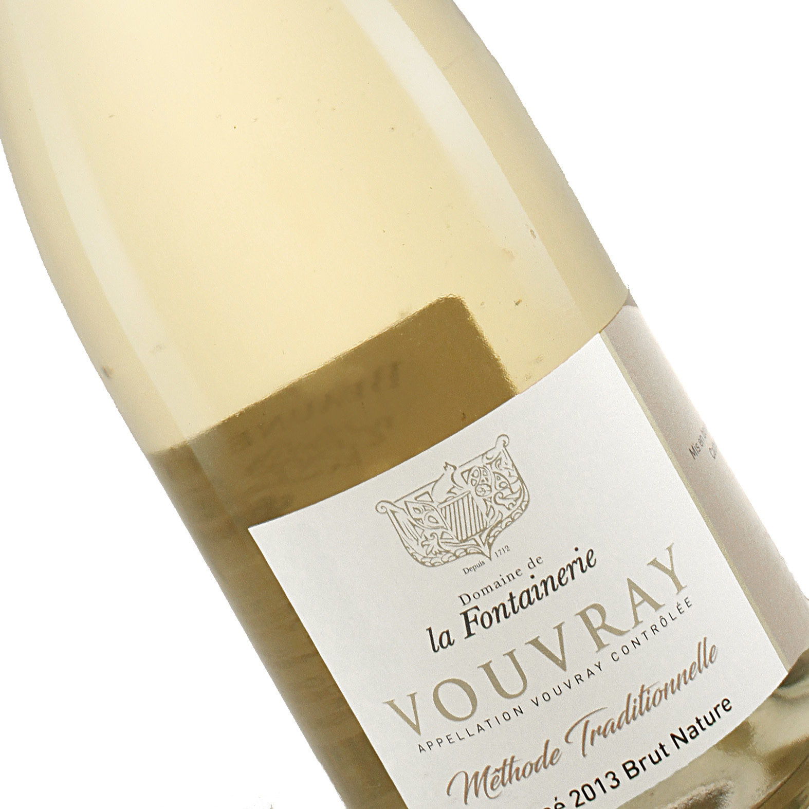 Domaine de la Fontainerie 2013 Vouvray Brut Nature Sparkling Wine, Loire Valley