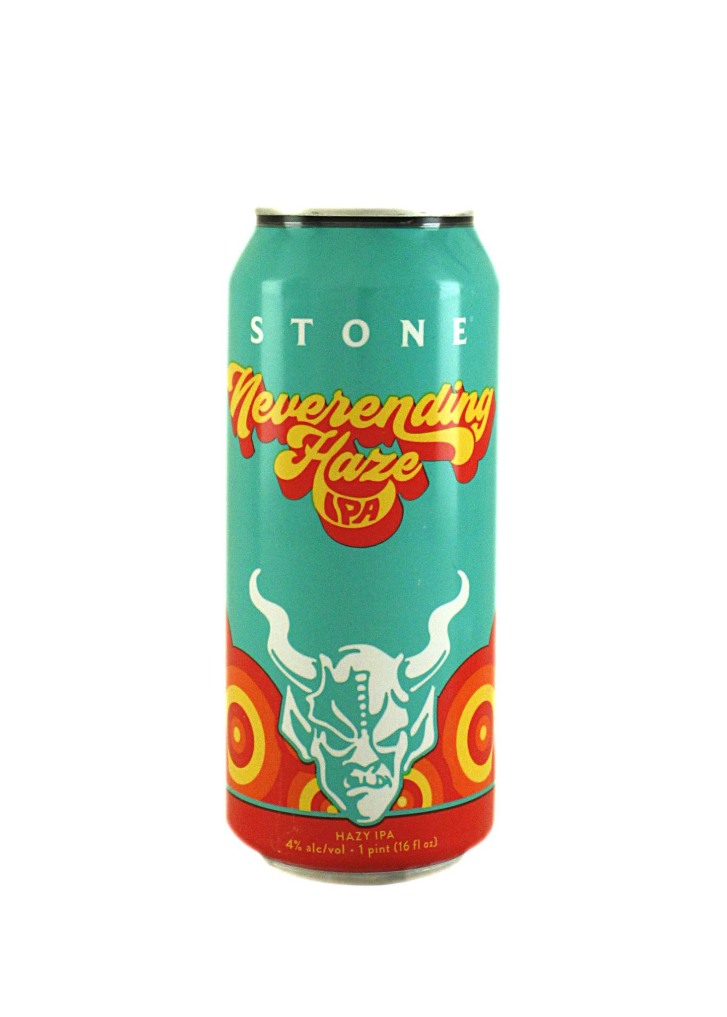 """Stone Brewing """"Neverending Haze"""" IPA 16oz. Can - Escondido, CA"""