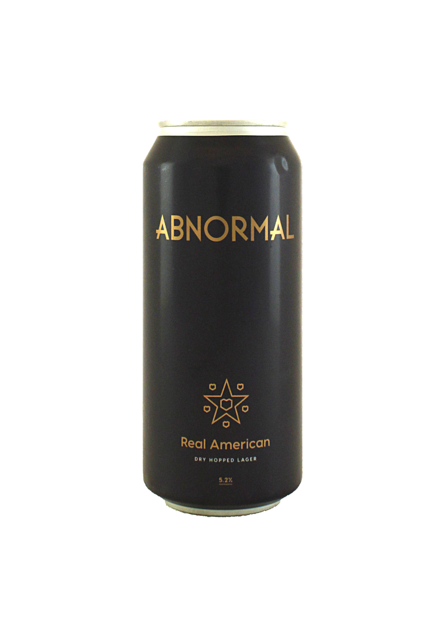 "Abnormal Beer ""Real American"" Dry hopped Lager 16oz can- San Diego, CA"
