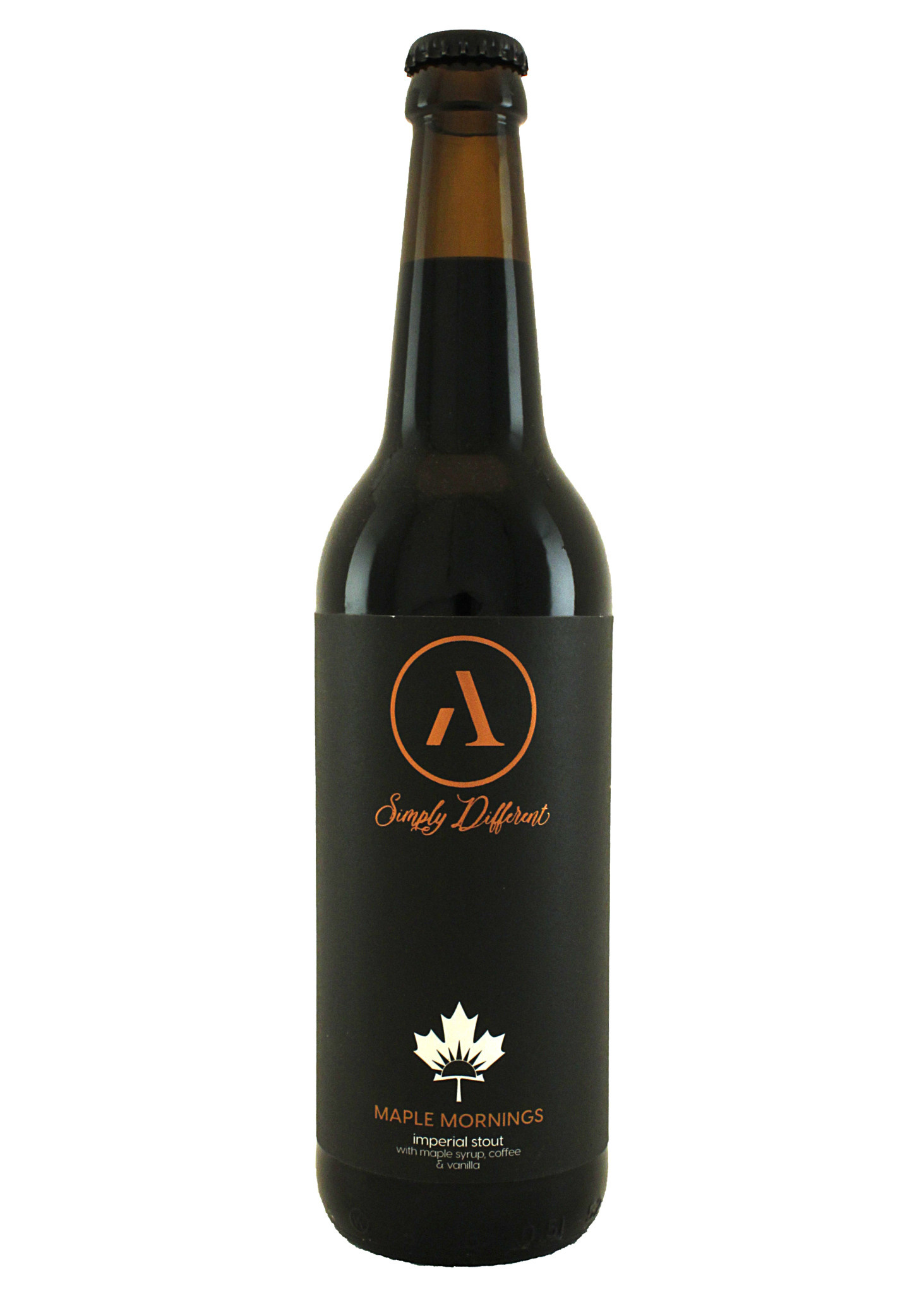 """Abnormal Beer """"Maple Mornings"""" Imperial Stout 500ml San Diego, California"""