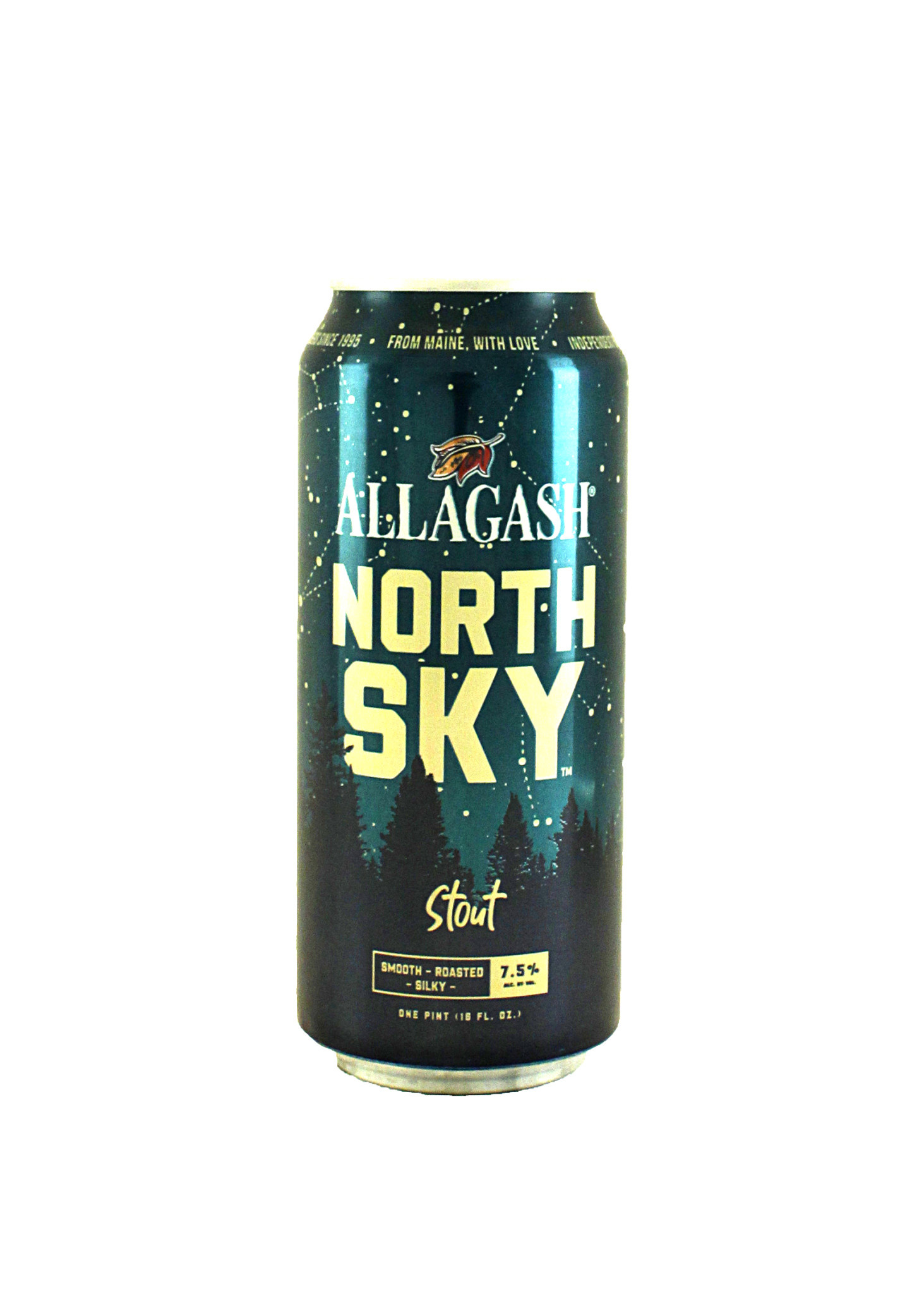 "Allagash Brewing ""North Sky"" Stout 16oz. Can - Maine"