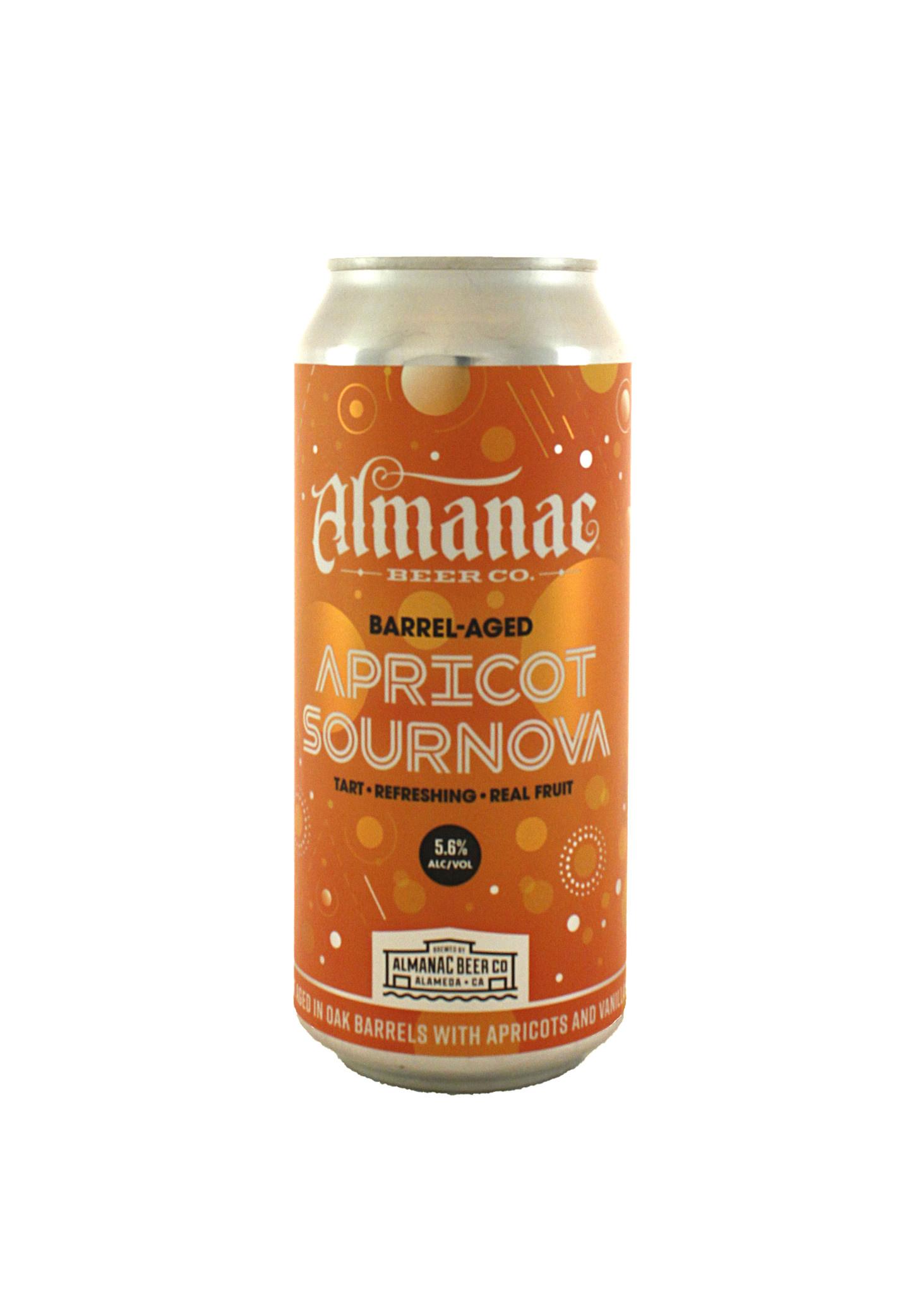 """Almanac """"Apricot Sournova"""" Barrel Aged Sour Ale 16oz - Almeda CA"""