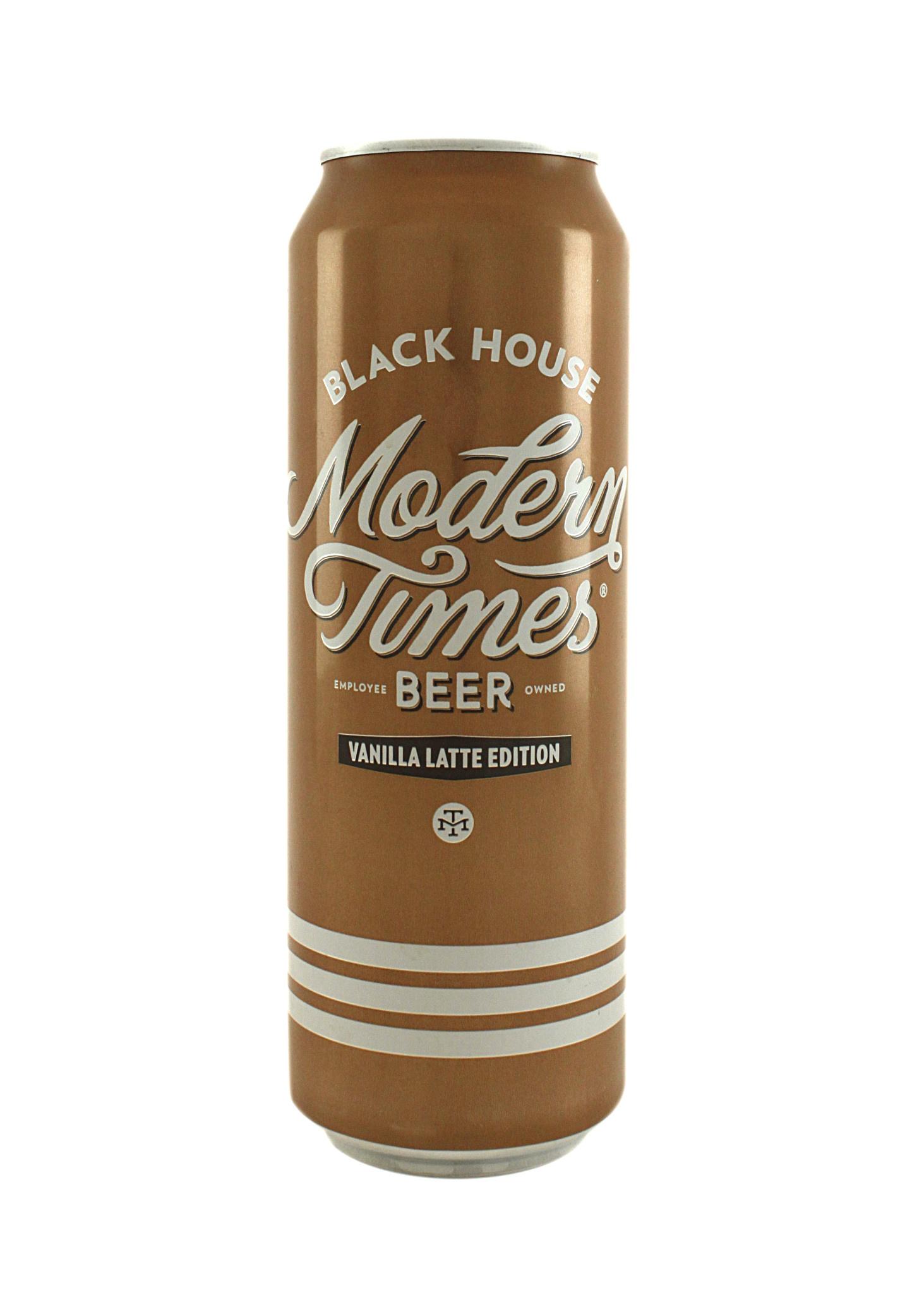 "Modern Times Beer Black House ""Vanilla Latte Edition""  19.2oz. Can - San Diego, CA"
