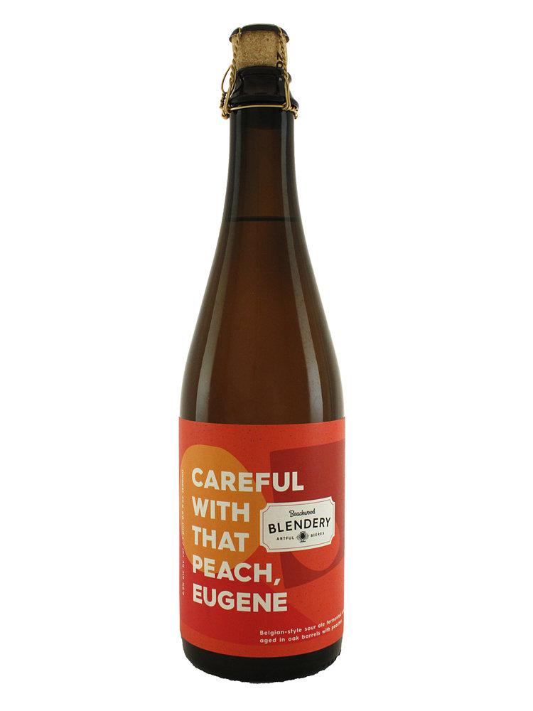 "Beachwood Blendery ""Careful With That Peach, Eugene"" Belgian-Style Sour Ale Aged w/Peaches 500ml Bottle - Long Beach, CA"