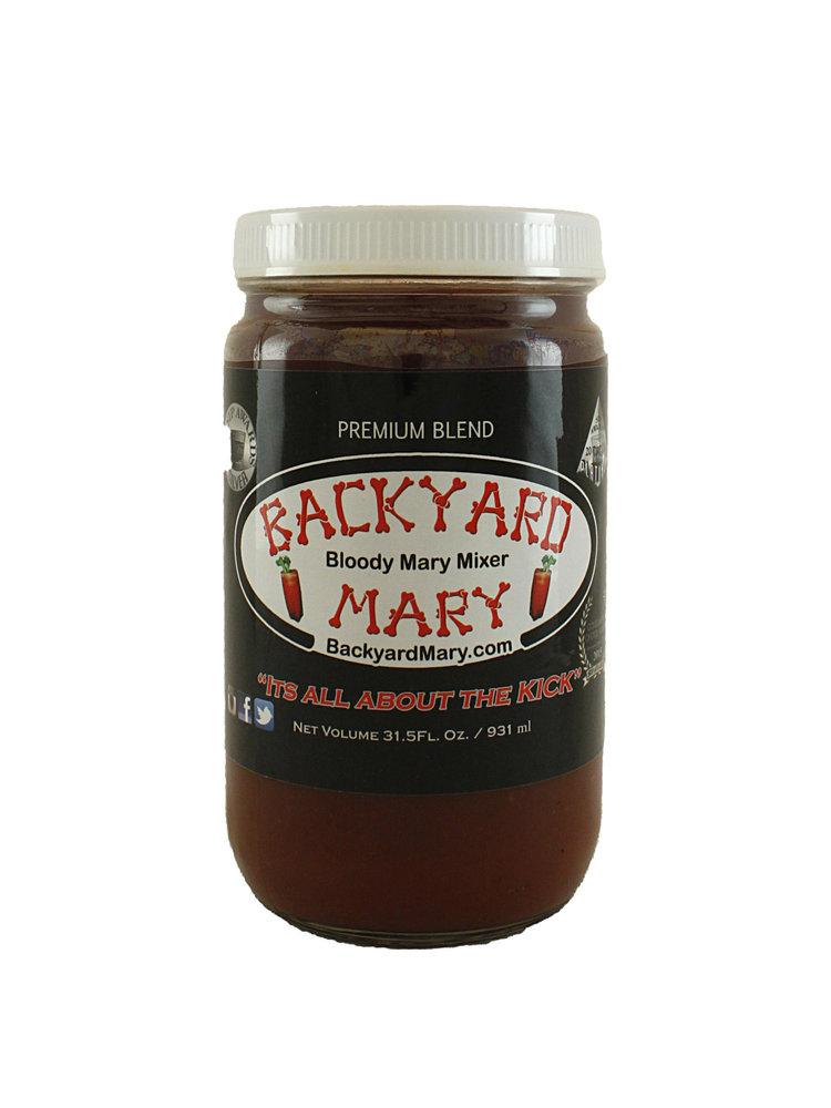"""Backyard Mary """"Happy Spicy"""" Medium Hot Bloody Mary Mixer"""