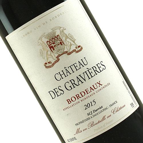 Chateau des Gravieres 2015 Bordeaux Rouge