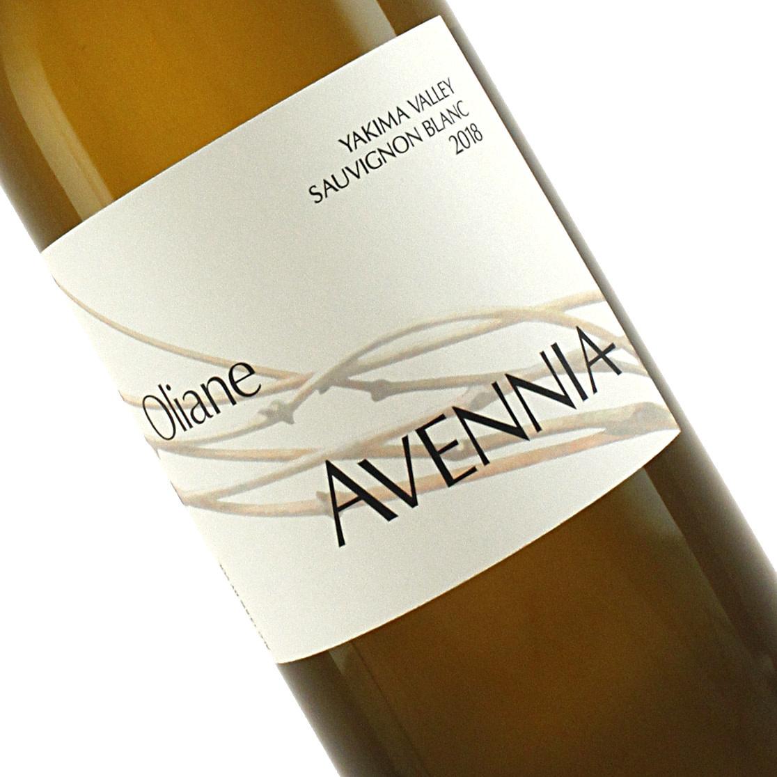 """Avennia 2018 Sauvignon Blanc """"Oliane"""" Yakima Valley, Washington"""