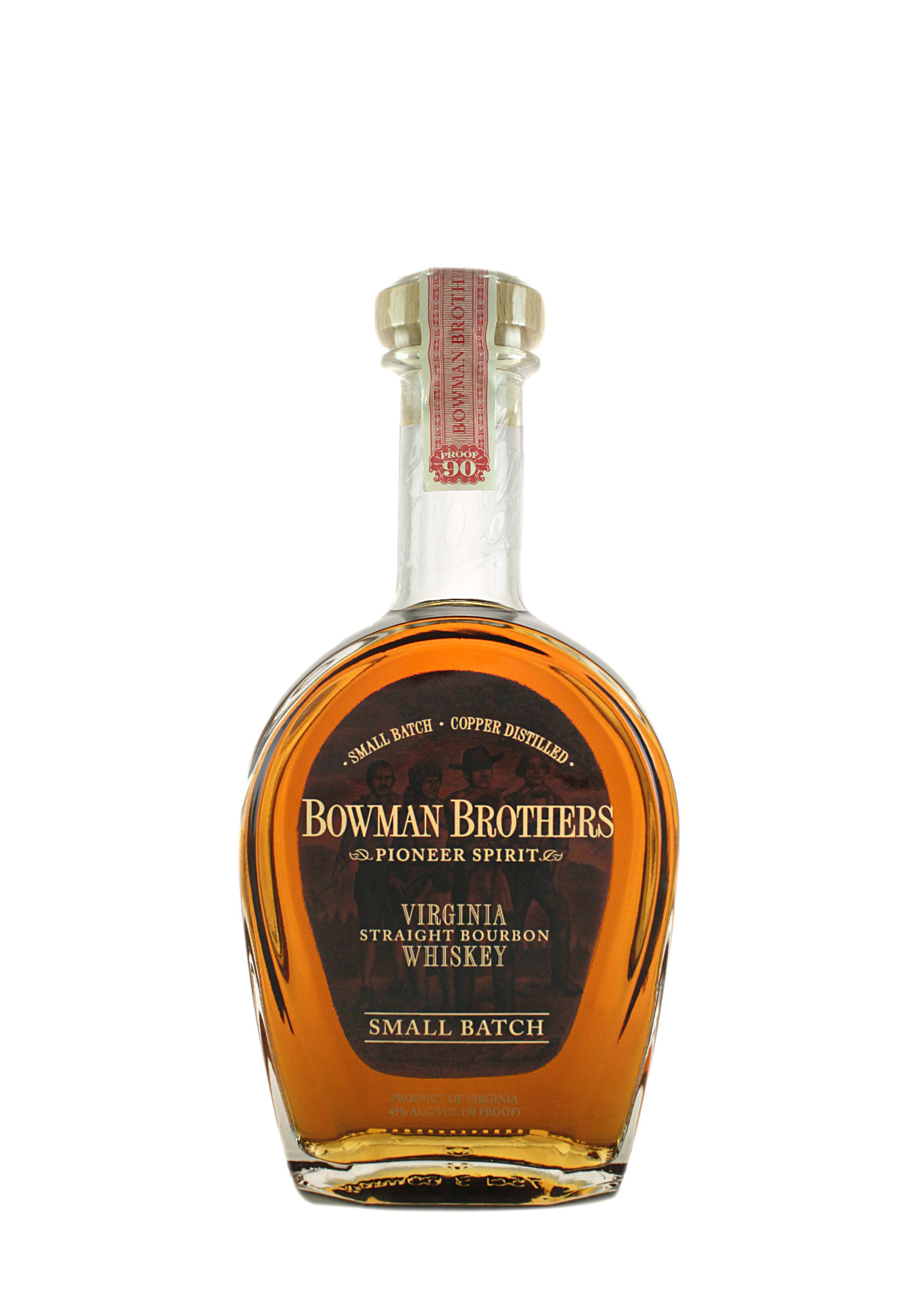 Bowman Brothers Small Batch Virginia Straight Bourbon, Virginia