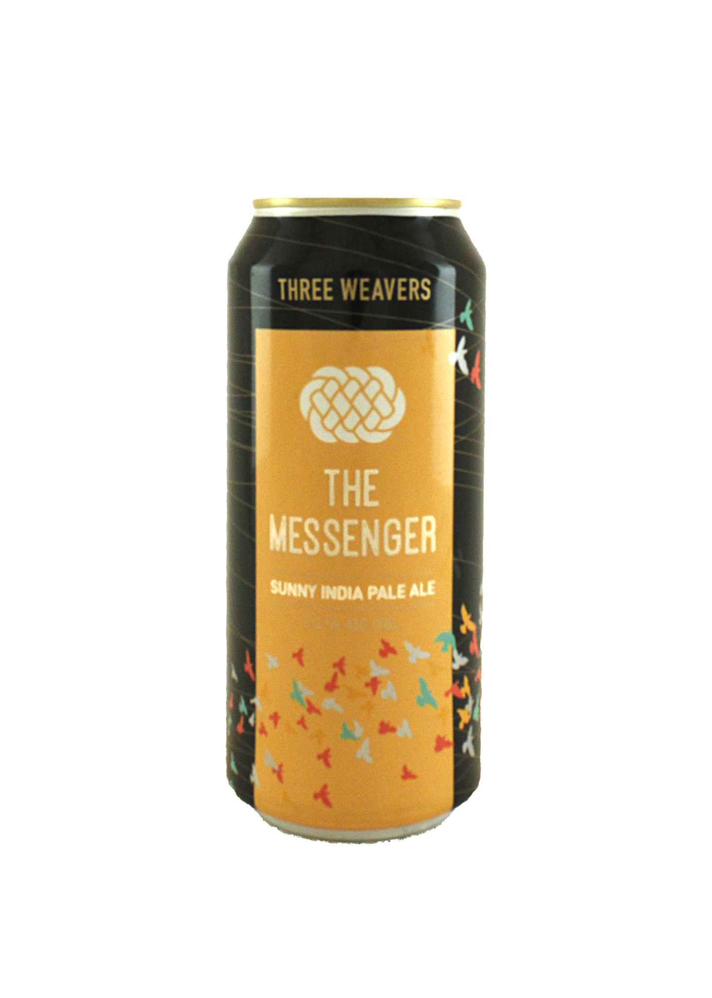 "Three Weavers ""The Messenger"" Sunny IPA 16oz. Can - Inglewood, CA"