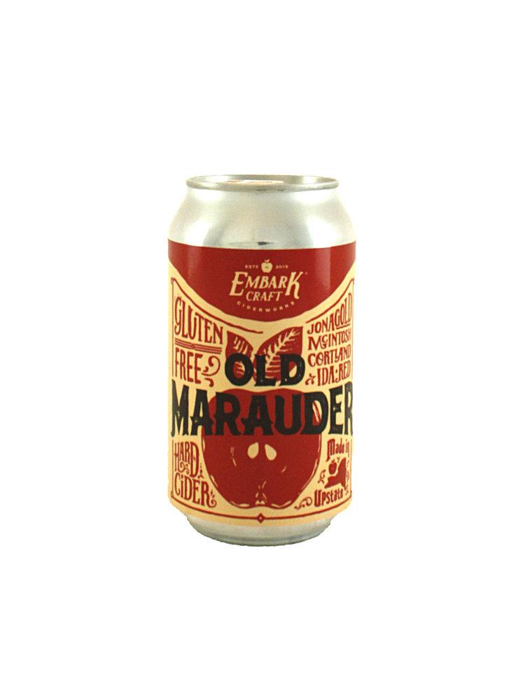 "Embark Craft Cider ""Old Marauder"" Hard Cider 12oz. Can - Wiliamsonn NY"