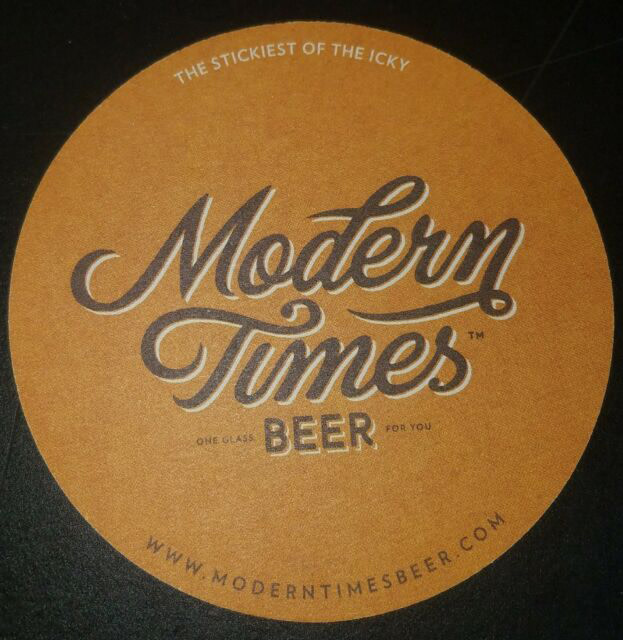 """Modern Times Beer """"Chronos Cog"""" Marzen Lager 19.2oz can- San Diego, CA"""