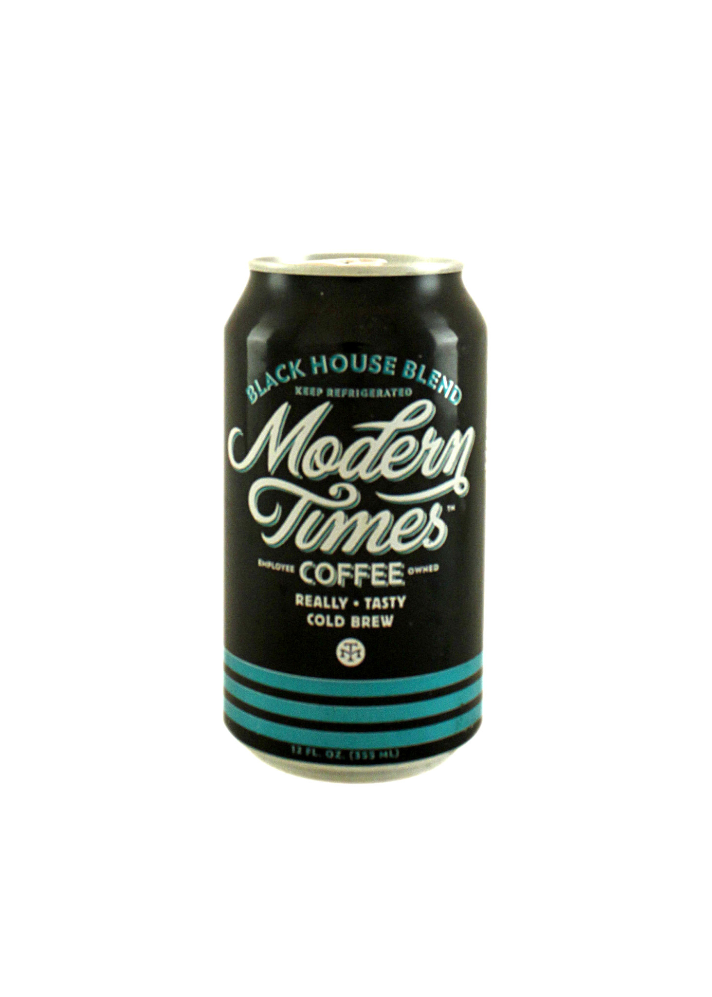 "Modern Times Coffee ""Black House Blend"" Cold Brew 12 oz. cans"
