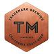 """Trademark Brewing """"BBA 10hour Stout"""" BBA Stout 500ml bottle-Long Beach, CA"""