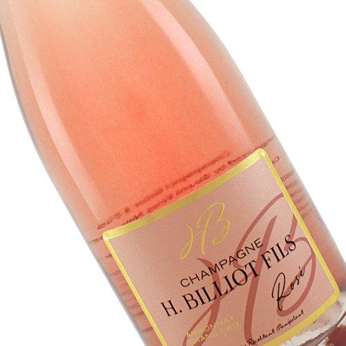 H. Billiot Fils N.V. Champagne Grand Cru Brut Rose, Ambonnay