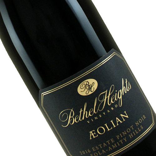 "Bethel Heights 2016 ""Aeolian"" Estate Pinot Noir, Eola-Amity Hills, Oregon"