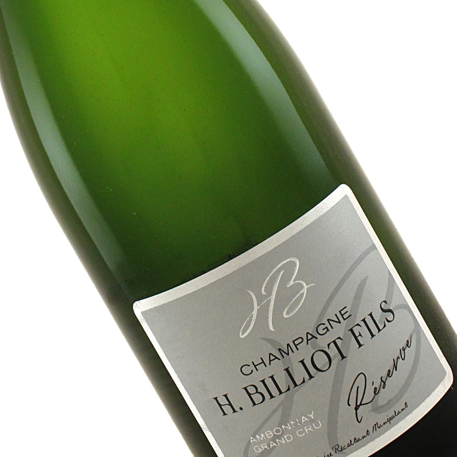 H. Billiot Fils N.V. Brut Reserve Grand Cru Champagne, Ambonnay